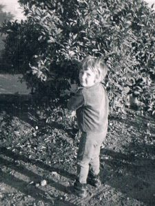 Fascination with bees at a young age