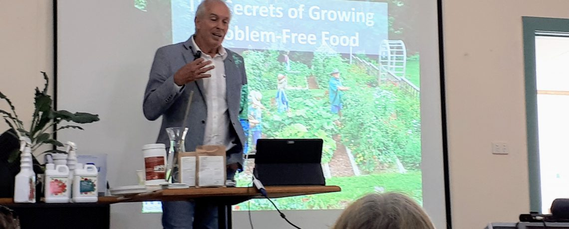 Graeme Sait Shares His Tips On Problem Free Home Gardens And Their Importance