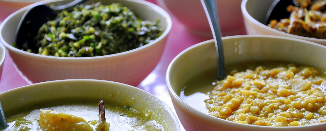 Warrigal Greens With Pigeon Pea Dhal
