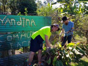Yandina Community Gardens skills visiting workers